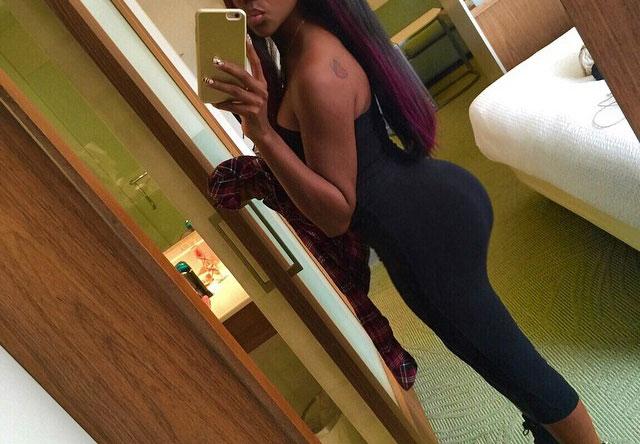 Belle femme black de 24 à Paris cherche un plan cul
